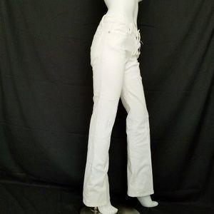 BCBG Max Azria Jeans White Wide Leg Size 29